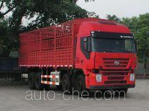 SAIC Hongyan CQ5314CCYHXG466 stake truck