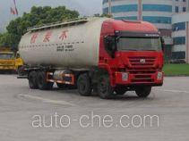 红岩牌CQ5314GFLHTG466型粉粒物料运输车
