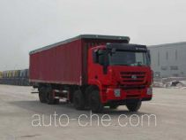 SAIC Hongyan CQ5314XXYHMG466VP soft top box van truck