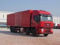 SAIC Hongyan CQ5314XXYHTG466 box van truck