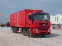 SAIC Hongyan CQ5314XXYHTG466V box van truck