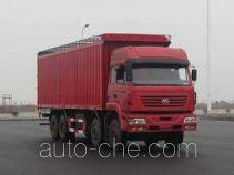 SAIC Hongyan CQ5314XXYSMG366P soft top box van truck
