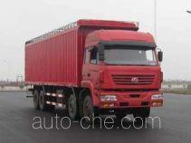 SAIC Hongyan CQ5314XXYSTG466P soft top box van truck