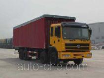 SAIC Hongyan CQ5314XXYTTG466P soft top box van truck