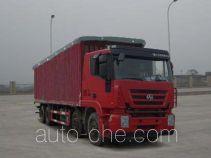 SAIC Hongyan CQ5315CPYHTG466 soft top box van truck