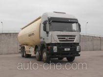 SAIC Hongyan CQ5315GFLHTG466 low-density bulk powder transport tank truck