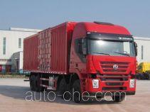 SAIC Hongyan CQ5315XXYHMG466 box van truck