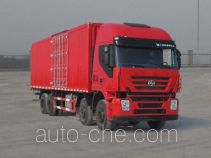 SAIC Hongyan CQ5315XXYHTG466 box van truck