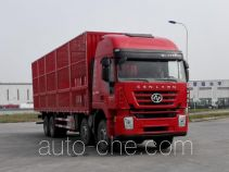 SAIC Hongyan CQ5316CCQHMVG466 livestock transport truck