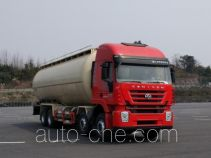 SAIC Hongyan CQ5316GFLHXVG466H low-density bulk powder transport tank truck