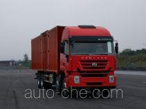 红岩牌CQ5316XXYHMVG466型厢式运输车