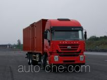SAIC Hongyan CQ5316XXYHMVG466 box van truck