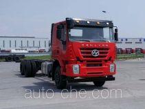 红岩牌CQ5346TXHTVG47-594A型特种作业车底盘