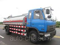 Crude oil collection truck