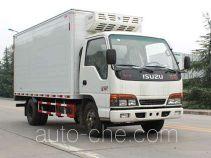 SAIC Hongyan CQZ5044XLC33QL refrigerated truck