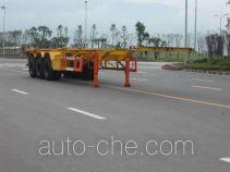 红岩牌CQZ9391TJZ型集装箱运输半挂车