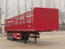 红岩牌CQZ9400CCY型仓栅式运输半挂车