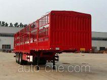 红岩牌CQZ9401CCY型仓栅式运输半挂车