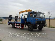 XGMA Chusheng CSC5160JSQ truck mounted loader crane