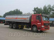 XGMA Chusheng CSC5257GJYZ fuel tank truck