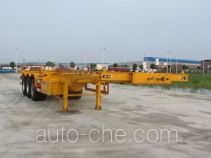 XGMA Chusheng CSC9404TWY dangerous goods tank container skeletal trailer