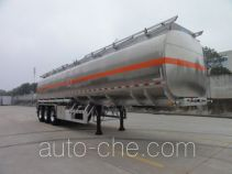 Chengtong CSH9403GRY flammable liquid aluminum tank trailer