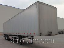 Chengtong CSH9403XXY box body van trailer