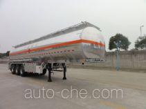 Chengtong CSH9404GRY flammable liquid aluminum tank trailer