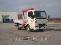 尚骏牌CSJ5047JSQZZ4型随车起重运输车