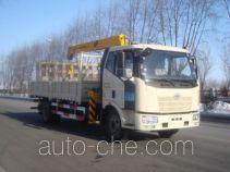 尚骏牌CSJ5151JSQ4型随车起重运输车