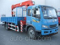 尚骏牌CSJ5160JSQ4型随车起重运输车