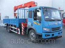 Shangjun CSJ5163JSQ4 truck mounted loader crane