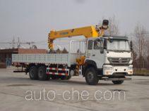 尚骏牌CSJ5254JSQZZ4型随车起重运输车