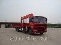 Shangjun CSJ5315JSQ4 truck mounted loader crane