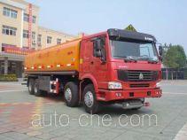 CIMC Liangshan Dongyue CSQ5317GYYZZ oil tank truck