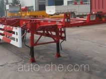 CIMC Liangshan Dongyue CSQ9150TJZG empty container transport trailer