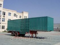 CIMC Liangshan Dongyue CSQ9210TCL vehicle transport trailer