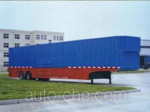CIMC Liangshan Dongyue CSQ9283TCL vehicle transport trailer