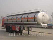CIMC Liangshan Dongyue CSQ9300GHY chemical liquid tank trailer
