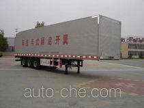 CIMC Liangshan Dongyue CSQ9320XXYK полуприцеп фургон с подъемными бортами (фургон-бабочка)