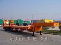 梁山东岳牌CSQ9340TDP型低平板运输半挂车
