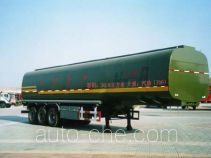CIMC Liangshan Dongyue CSQ9345GJY fuel tank trailer
