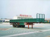 梁山东岳牌CSQ9350型半挂车