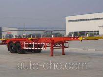 万事达牌CSQ9350TJZG型集装箱运输半挂车