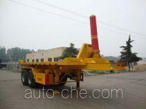 CIMC Liangshan Dongyue CSQ9350ZZXP flatbed dump trailer