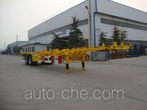 CIMC Liangshan Dongyue CSQ9351TJZ container transport trailer