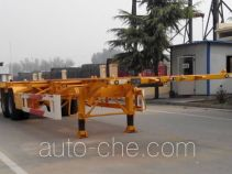 CIMC Liangshan Dongyue CSQ9351TWY dangerous goods tank container skeletal trailer