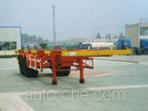 CIMC Liangshan Dongyue CSQ9362TJZG container transport trailer