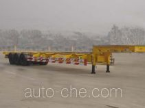 CIMC Liangshan Dongyue CSQ9383TJZG container carrier vehicle