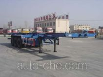 CIMC Liangshan Dongyue CSQ9388TJZG container carrier vehicle